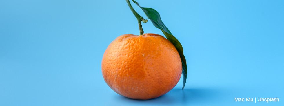 Naranja representa minismalismo empresarial